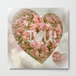 VALENTINE'S DAY ROSES Metal Print
