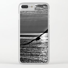 INFINITELY SLIDING SWING Clear iPhone Case