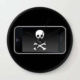 The Death Phone Wall Clock