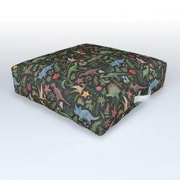Dinosaur Jungle Outdoor Floor Cushion