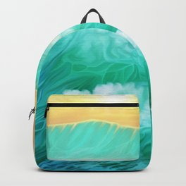 Light in a storm Backpack