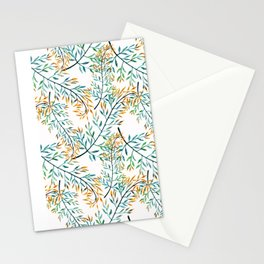 Delicate leaves . Stationery Cards