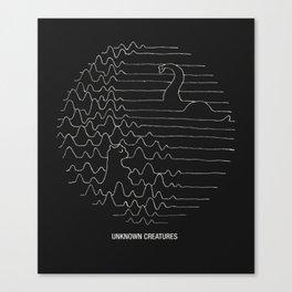 Unknown Creatures Canvas Print