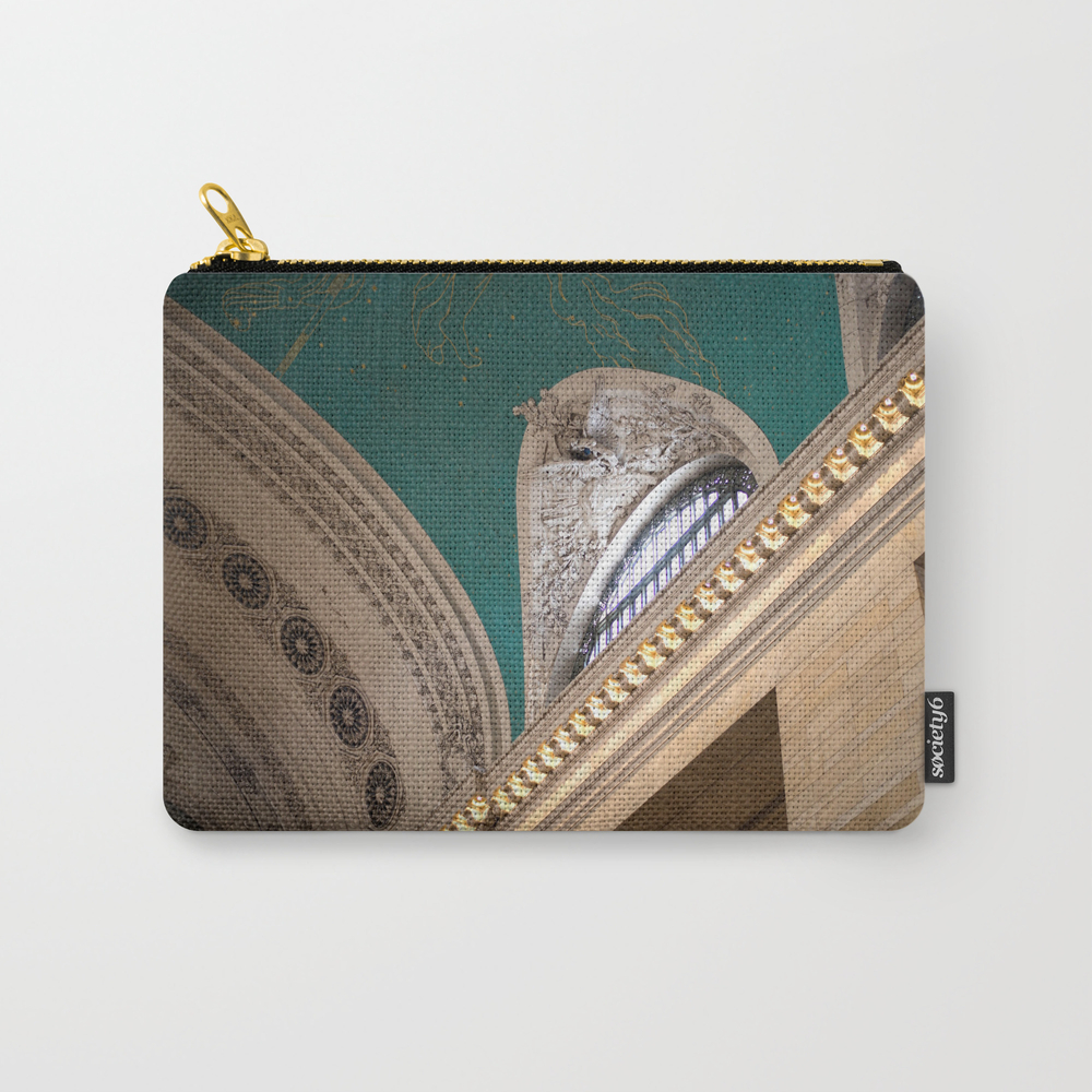 New York Grand Central Station Carry-all Pouch by Savannahsmiled CAP7830103