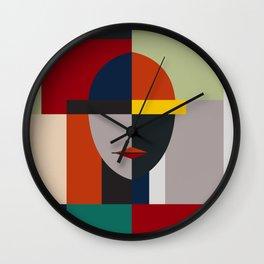 NAMELESS WOMAN Wall Clock