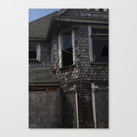 detroit Canvas Prints featuring Detroit by Summer Sloane