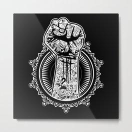 KAPOW Metal Print
