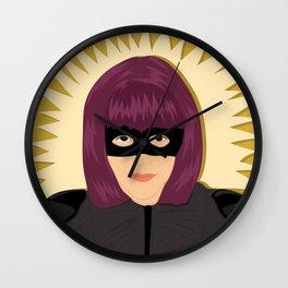Hit Girl | Bad Ass Women Series Wall Clock