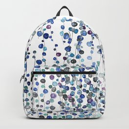 colorful string of beads 2 Backpack