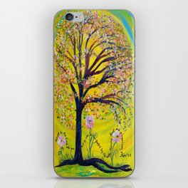 A Tree Planted by the Water iPhone Skin