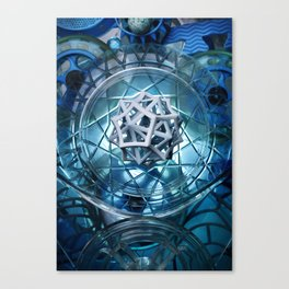 Birth Star Canvas Print