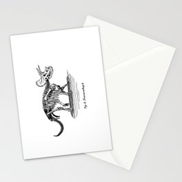 Figure Two: Triceratops Stationery Cards