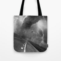 playstation Tote Bags featuring Storm by eARTh