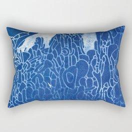 cyano spire Rectangular Pillow