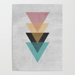 Abstract geometry 1 Poster