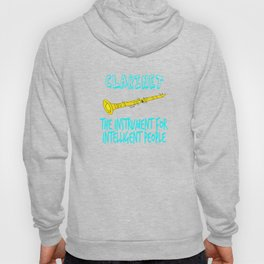 """""""The Instrument For Intelligent People"""" tee design. Perfect for wise and gifted like you!  Hoody"""