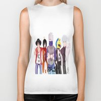 durarara Biker Tanks featuring Squad Goals by Daosu