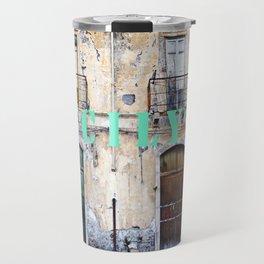 Antique Facade - Sicily Travel Mug