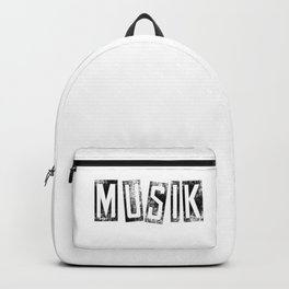 Musik Backpack