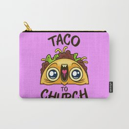 Excited Taco - Church Carry-All Pouch