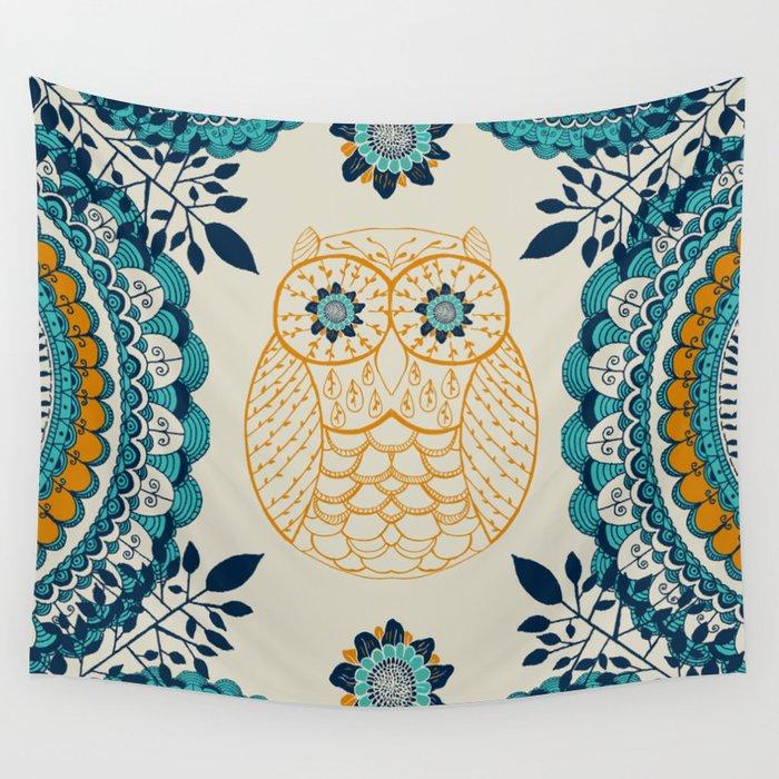 BOHO Owl Wall Tapestry