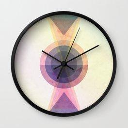 Confrontation Wall Clock
