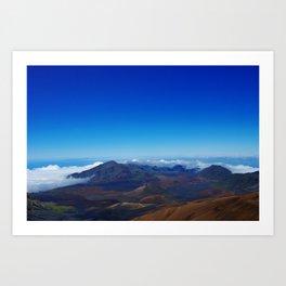 Haleakala Art Print
