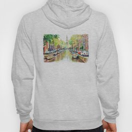 Amsterdam Canal 2 Hoody