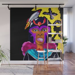 Ms. Magneto Wall Mural