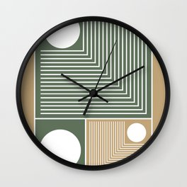 Stylish Geometric Abstract Wall Clock