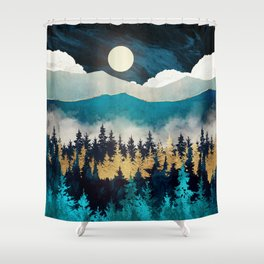 Evening Mist Shower Curtain