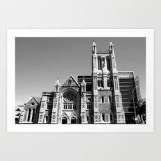 City of Churches - Adelaide Art Print