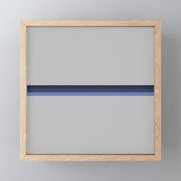 Pusuki - Colorful Abstract Stripes Framed Mini Art Print