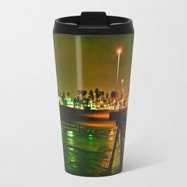 Venice Beach Night Travel Mug