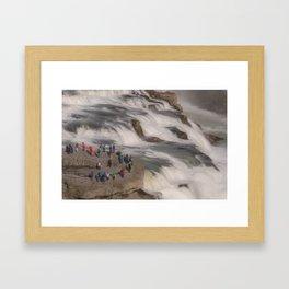 Gulfoss 3 Framed Art Print