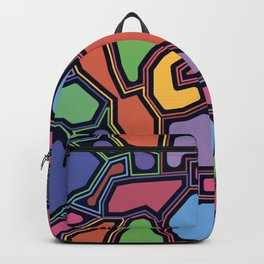 Glass Puzzle Backpack