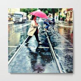 Rain I Metal Print