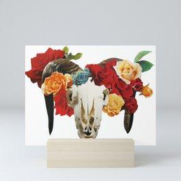 Rose Horns Mini Art Print