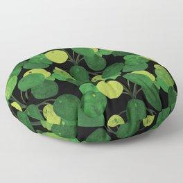 Black Pliea Peperonioides interior plant Floor Pillow