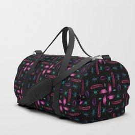 Multi bug pattern Duffle Bag