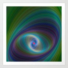 Elliptical Eye Art Print