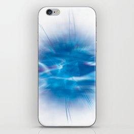 Mystic Blue iPhone Skin