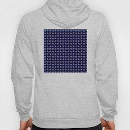 White stars on blue/black Hoody
