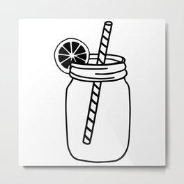 Iced Tea Metal Print