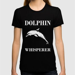 Creative Dolphin Tshirt For Men And Wome T-shirt