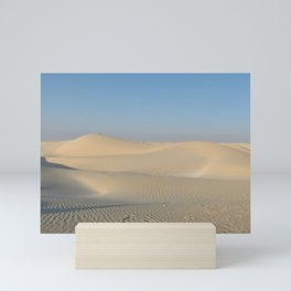 Sand Dunes Sahara Desert Landscape 03 Mini Art Print