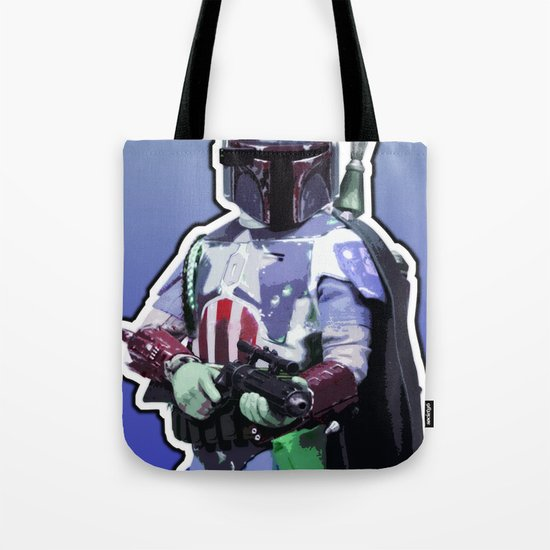 Captain Fett Tote Bag