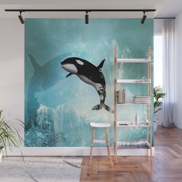 The orca Wall Mural