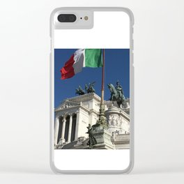 Victor Emmanuel Momument - Rome Clear iPhone Case