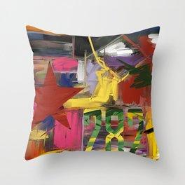 Fantasia in Pixels Throw Pillow